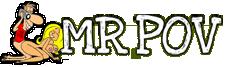 Mr. POV logo