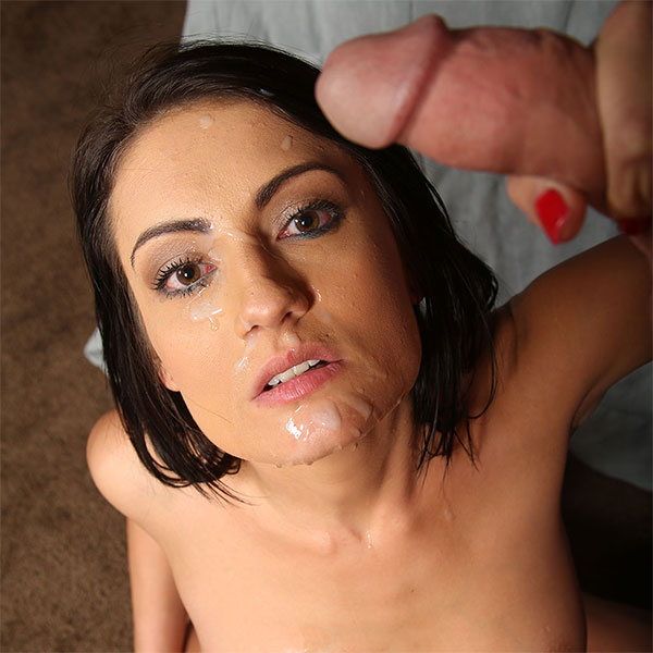A Big Facial for Slutty